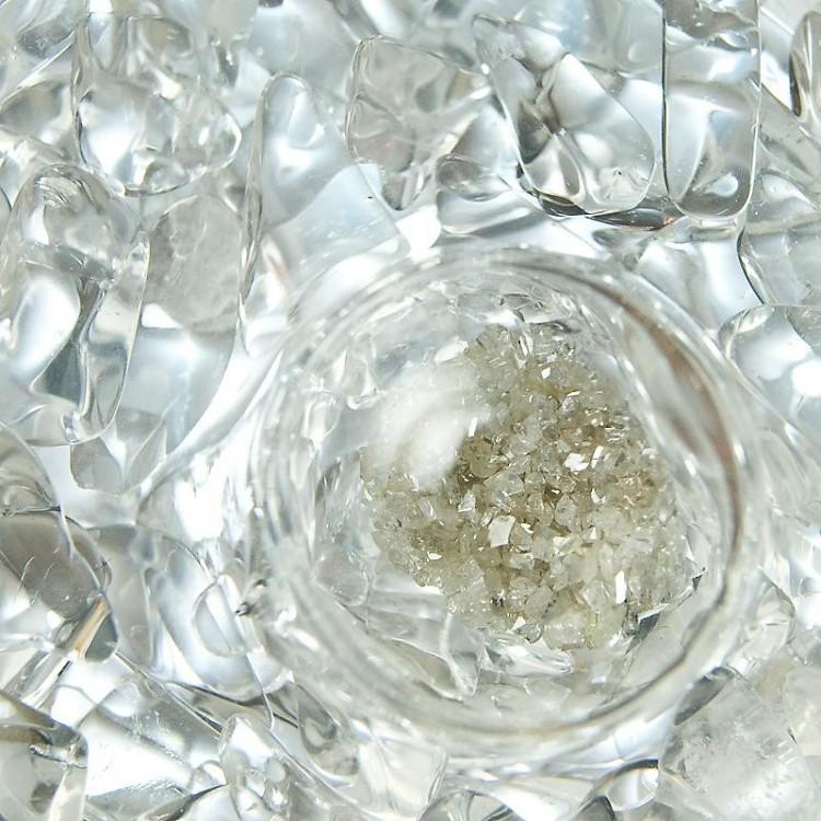 Diamantové úlomky-Křišťál