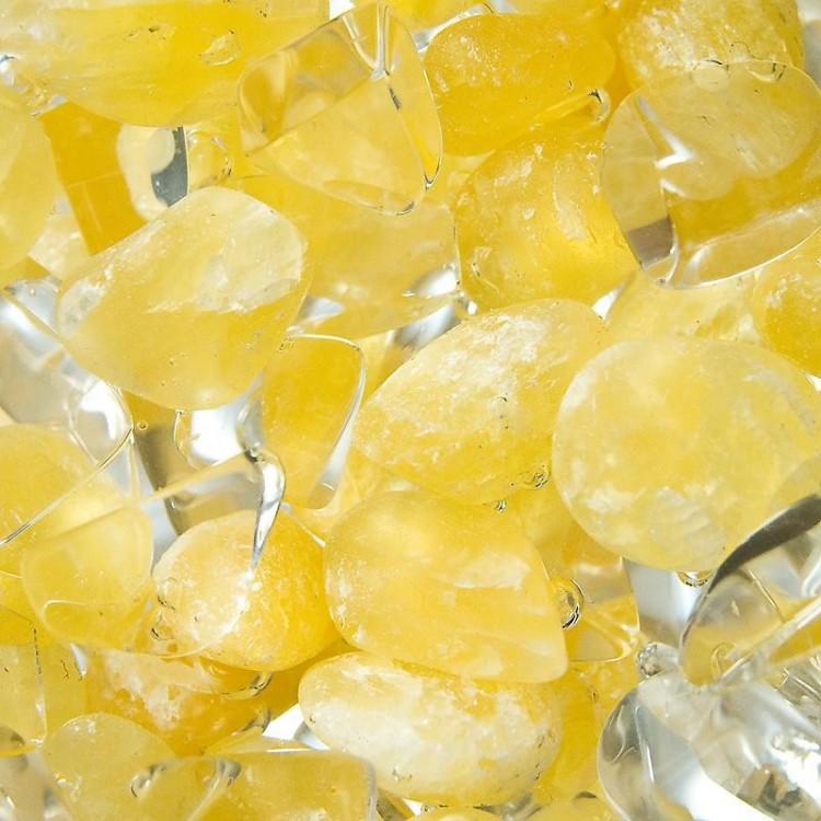 Kalcit oranžový - Křišťál