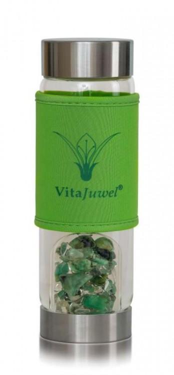 Ochranný obal na lahev ViA / zelený