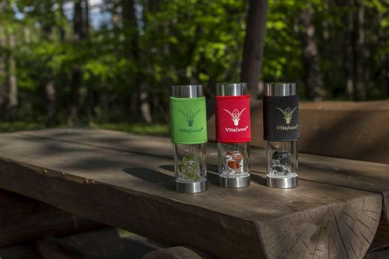 Ochranný obal na lahev ViA / červený č.3