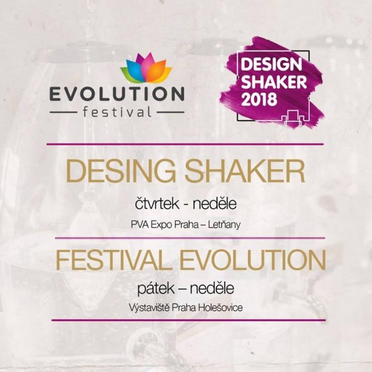 EVOLUTION + DESIGN SHAKER 22.3.-25.3.2018