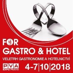 Výstava FOR GASTRO & HOTEL 4. - 7. 10. 2018