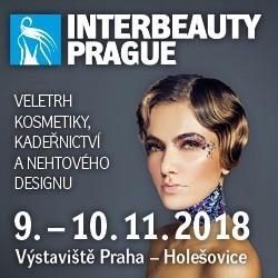 INTERBEAUTY Praha 9.-10.11.2018