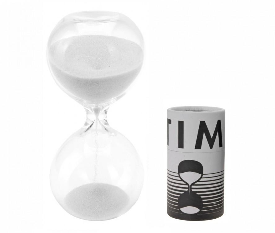 Přesýpací hodiny - bílý písek